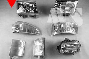 Reflektor do Mitsubishi Canter Fuso