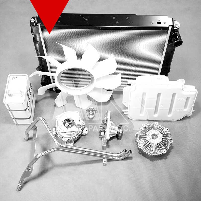 Zdjęcia części zamniennych do układu chłodzenia Mitsubishi Canter