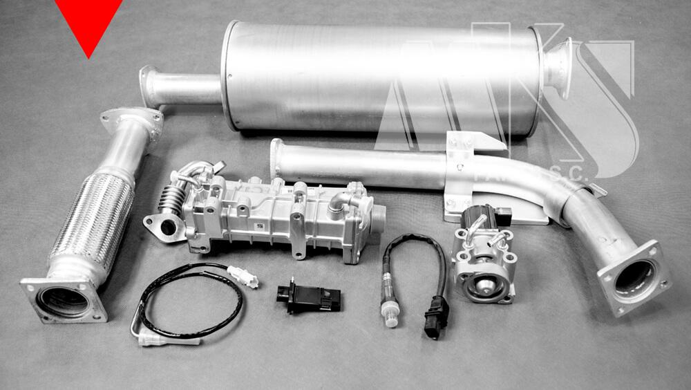 Części zamienne do układu wydechowego do Mitsubishi Canter Fuso